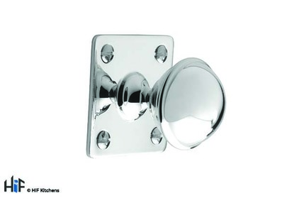 View K1075.32.BN Classic Knob 32mm With Backplate Solid Brass Nickel offered by HiF Kitchens