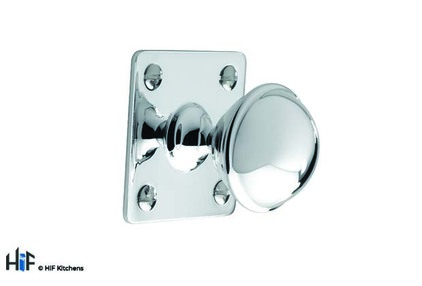 View K1075.32.CH  Wellington Knob Polished Chrome  offered by HiF Kitchens