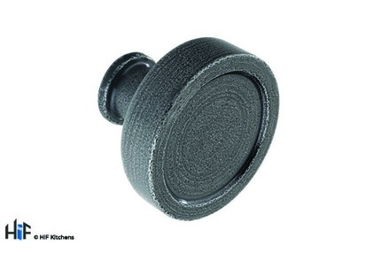 View K1098.40.HS Kitchen Knob 40mm Hand forged Steel offered by HiF Kitchens