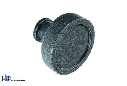 K1098.40.HS Kitchen Knob 40mm Handforged Steel Image