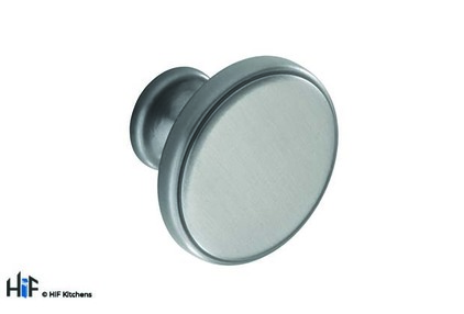 View K1107.35.AN Kitchen Knob  35mm Belgrave Antique Nickel Finish offered by HiF Kitchens