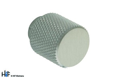 View K1111.20.SS Kitchen Knurled Knob 20mm Stainless Steel offered by HiF Kitchens