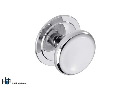 View K1113.46.CH Kitchen Door Knob 46mm Chrome Finish offered by HiF Kitchens