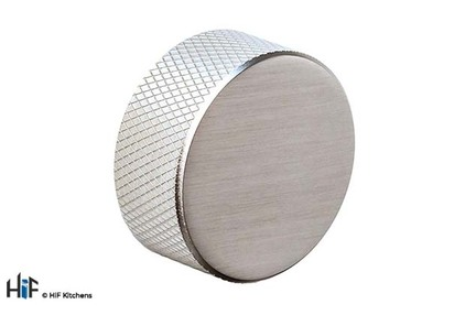View K1120.33.SS Didsbury Knob 35mm Polished Stainless Steel offered by HiF Kitchens