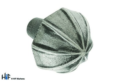 Added K305.40.PE Hidcote Knob Raw Pewter Central Hole Centre  To Basket