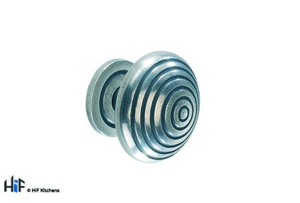 View K630.46.PE Heath Knob Raw Pewter Central Hole Centre offered by HiF Kitchens