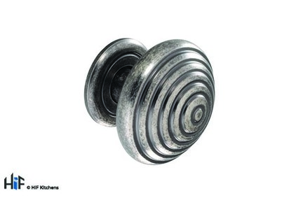 View K719.46.PE Knob And Backplate 46mm Dia Pewter Effect offered by HiF Kitchens