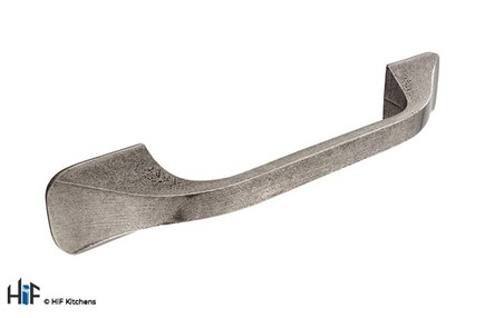 View  H1051.128.PE Kitchen D Handle 128mm Pewter offered by HiF Kitchens
