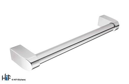 View H1077.160.CH Kitchen Bar Handle 160mm Chrome offered by HiF Kitchens