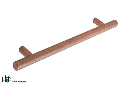 View H1084.160.AC Kitchen Bar Handle 160mm Antique Copper Effect offered by HiF Kitchens