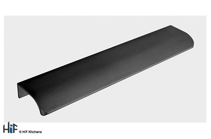 View H1087.32.BS Marylebone Trim Handle Satin Black 32mm Hole Centre offered by HiF Kitchens