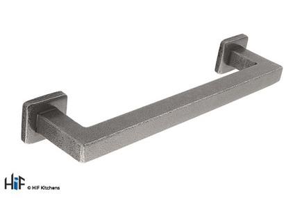 H1099.160.HS Kitchen Pull Handle 160mm Handforged Steel Image