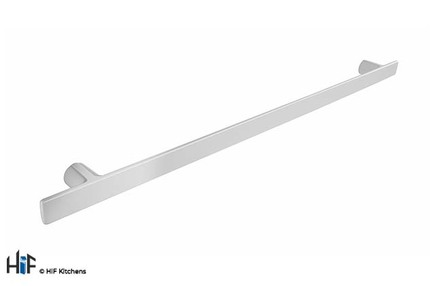 View H1130.320.MW Kitchen T Handle 380mm Wide White  offered by HiF Kitchens