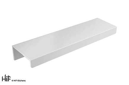 View H1131.90.MW Kitchen Trim Handle 130mm White Finish  offered by HiF Kitchens