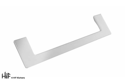 View H1132.160.MW Kitchen D Handle 180mm Wide White Finish  offered by HiF Kitchens