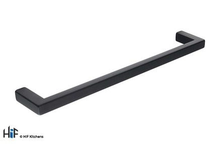 View H1137.160.MB Kitchen Bar Handle 168mm Wide Matt Black offered by HiF Kitchens