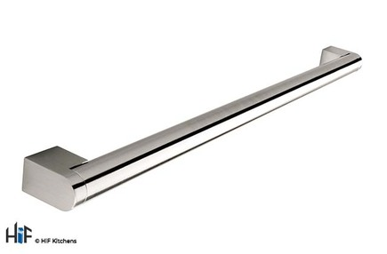 View H197.237.SS  Thorpe Boss Bar Handle Brushed Stainless Steel Effect offered by HiF Kitchens