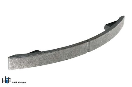 View H256.128.PE Kitchen D Handle 128mm Pewter Effect offered by HiF Kitchens
