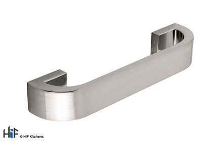 View H295.128.SS Kitchen D Handle Die-Cast Stainless Steel offered by HiF Kitchens