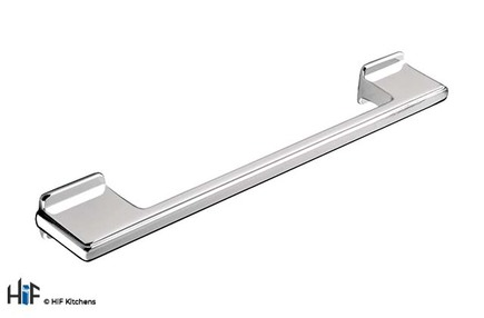 View H414.320.CH Kitchen D Handle 320mm Die-Cast Bright Chrome offered by HiF Kitchens