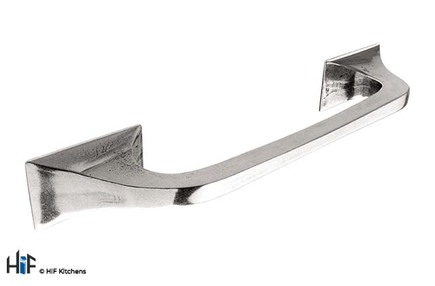 View H580.160.PE Kitchen D Handle 160mm Pewter  offered by HiF Kitchens