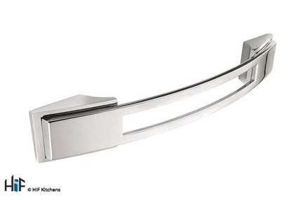 H589.128.BN Kitchen Bow Handle 128mm Bright Nickel Image