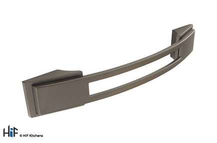 Added H589.128.BS Kitchen Bow Handle Black To Basket