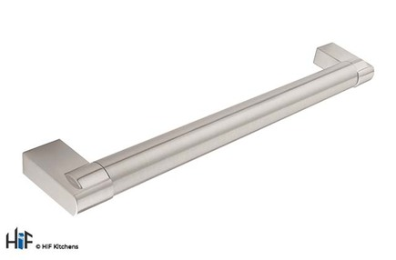 View H707.128.SS Middlenton Bar Handle Brushed Stainless Steel Effect offered by HiF Kitchens