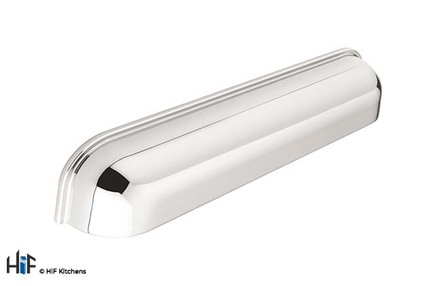 View H716.128.CH Kitchen Cup Handle 128mm Chrome Effect offered by HiF Kitchens