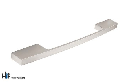 View H733.160.SS Kitchen D Handle Stainless Steel Effect offered by HiF Kitchens