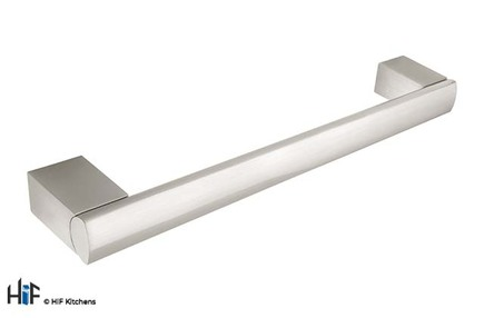 View H735.128.SS Bar Handle Stainless Steel Effect offered by HiF Kitchens