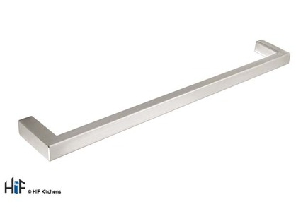 View H747.224.SS Sonning Bar Handle Square Brushed Stainless Steel Effect offered by HiF Kitchens