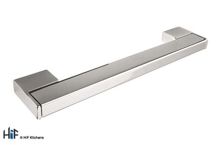 View H759.320.CH Kitchen Bar Handle 320mm Chrome Finish offered by HiF Kitchens