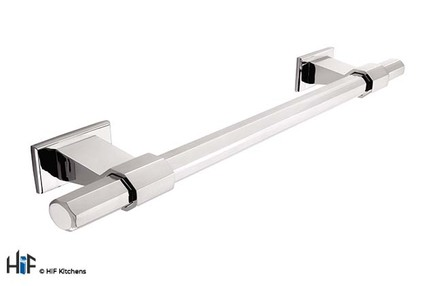 View H994.160.CH Bloomfield Bar Handle Polished Chrome 160mm Hole Centre offered by HiF Kitchens