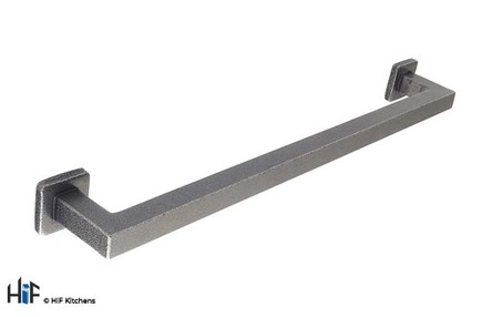 View H1099.288.HS Kitchen Pull Handle 288mm Hand forged Steel offered by HiF Kitchens