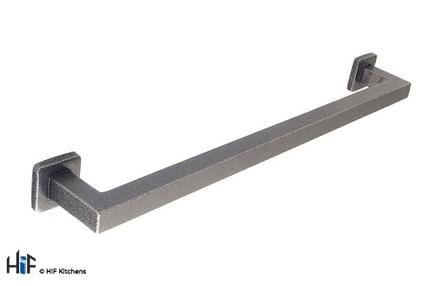 H1099.288.HS Kitchen Pull Handle 288mm Handforged Steel Image