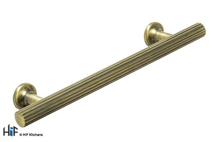 View H1144.242.AGB Strand T Bar Handle Brass 192mm Hole Centre offered by HiF Kitchens