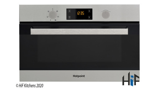 Hotpoint MD344IXH Built-In Microwave Oven With Grill Image