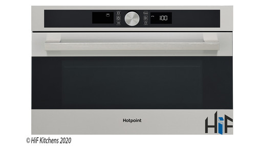 Hotpoint MD554IXH Built-In Microwave - Stainless Steel Image