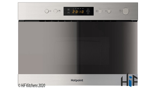 Added Hotpoint Class 3 MN 314 IX H Built-In Microwave To Basket