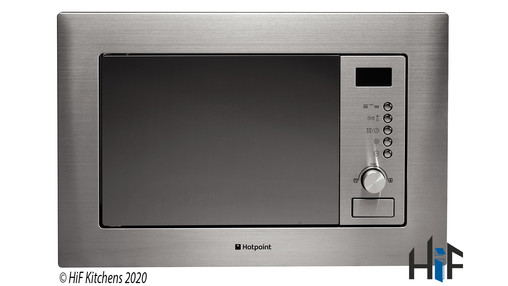 Added Hotpoint New style MWH 122.1 X Built-In Microwave  To Basket