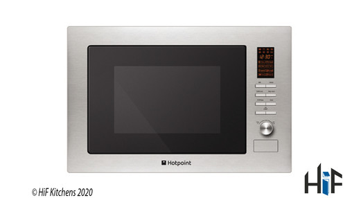 Added Hotpoint New style MWH 222.1 X Built-In Microwave To Basket