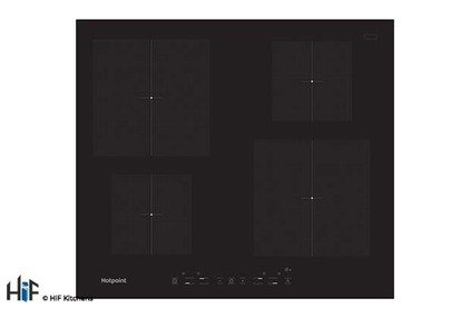 View Hotpoint CIA 640 C- TQ 1460S NE 60cm Induction Hob offered by HiF Kitchens