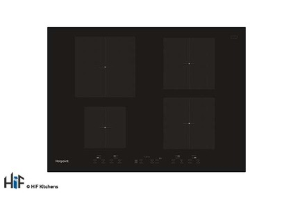 View Hotpoint CID 740 B 70cm Induction Hob offered by HiF Kitchens