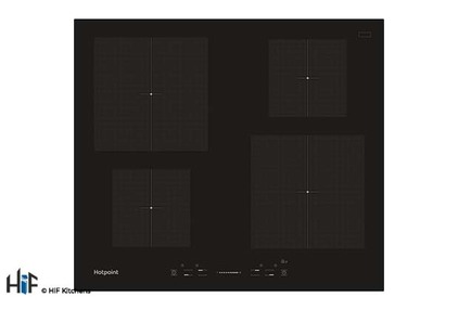 View Hotpoint CIS 640 B 60cm Induction Hob offered by HiF Kitchens