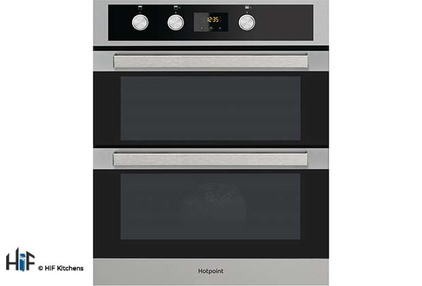 View Hotpoint DKU5 541 J C IX  Built Under Double Oven offered by HiF Kitchens
