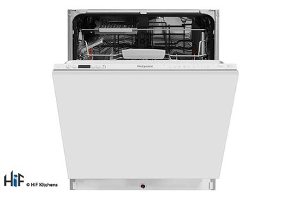 View Hotpoint Integrated Dishwasher Ultima HIO 3C22 WS C  offered by HiF Kitchens