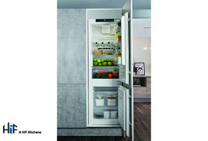 View Hotpoint Day1 HM 7030 E C AA O3.1 Integrated Fridge Freezer offered by HiF Kitchens