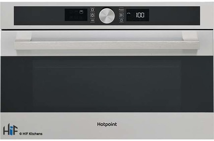 View Hotpoint MD554IXH Built-In Microwave - Stainless Steel offered by HiF Kitchens