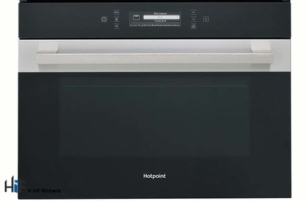 View Hotpoint MP996IXH Built-in Combination Microwave Oven offered by HiF Kitchens